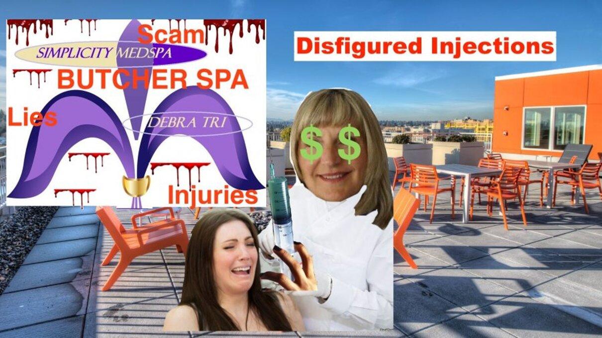 Complaint-review: Debra Tri ARNP - Simplicity Medspa at Square One Building SCAM. Photo #3