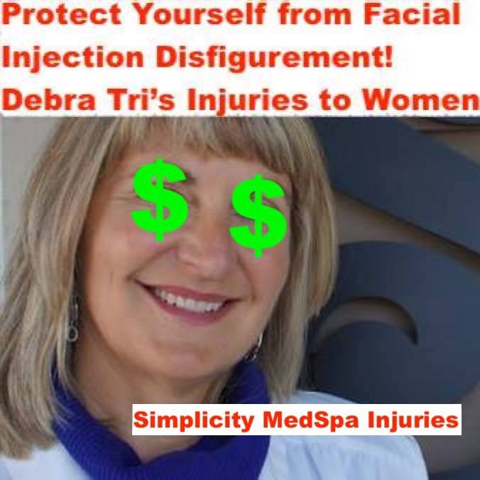 Complaint-review: Debra Tri ARNP - Simplicity Medspa at Square One Building SCAM. Photo #4