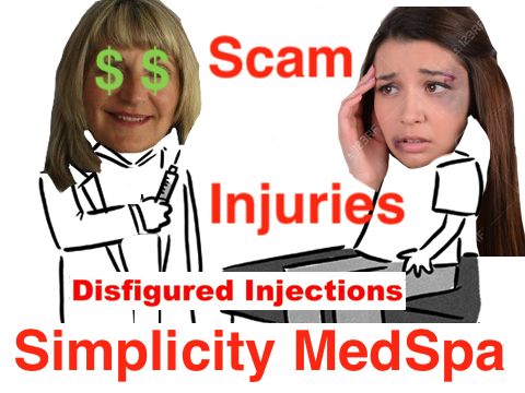 Complaint-review: Debra Tri ARNP - Simplicity Medspa at Square One Building SCAM. Photo #5